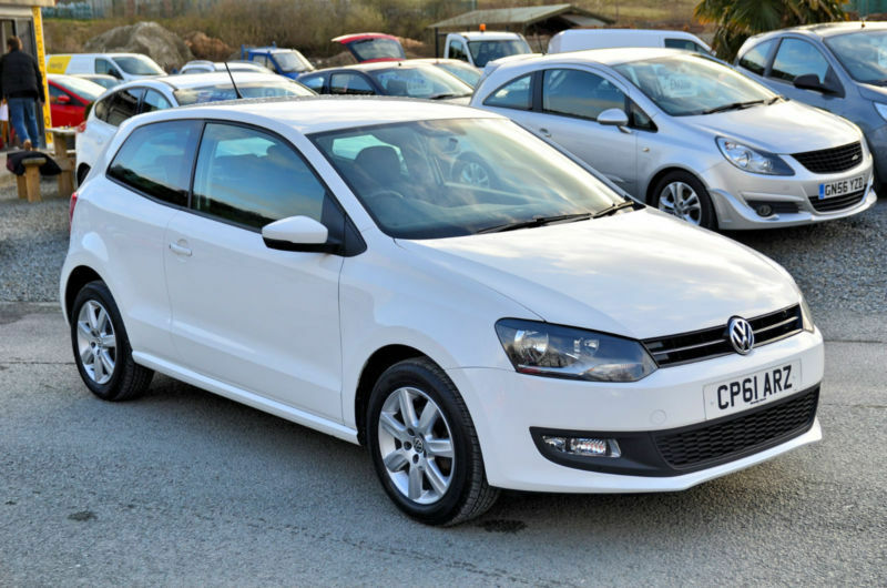 Cheap Used Cars For Sale >> 2011 61 Volkswagen Polo 1.4 Match White 3 Door | in ...