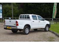 2013 TOYOTA HILUX HL2 D-4D 4X4 DOUBLE CAB PICK UP TRUCK DIESEL MANUAL DIESEL MAN