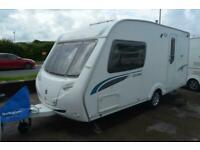 2007 Sterling Eccles Topaz - 2 Berth - End Washroom - Touring Caravan SOLD