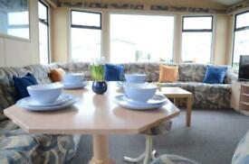 3 Bed Family Static Caravan with FREE Fees- WHITLEY BAY HOLIDAY PARK