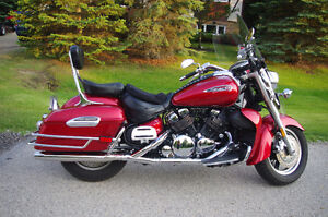 2009 Yamaha Royal Star Deluxe Touring Motorcycle