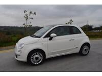 FIAT 500 1.2 LOUNGE, PAN ROOF, **ONLY 14K**