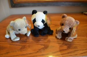 Ty Beanie Babies *Retired & Rare* - Set of 9 Bears I Sarnia Sarnia Area image 2