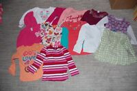 Box of girls 3T clothes