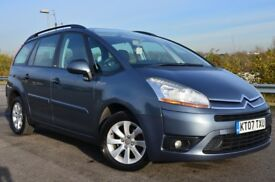Citroen C4 Grand Picasso 1.6 HDI VTR+ EGS 110HP (grey) 2007