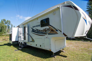 5th wheel, 38 ft, Keystone Avalanche 345TG