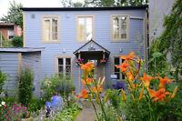 Très agréable maison près du Canal de Lachine pour location temp