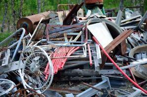 Free scrap pickup kanata/stitsville