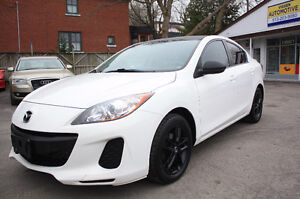 2012 Mazda 3***5-speed***loaded***beautiful-must be seen