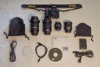 Nikon D90, Nikkor 18-105mm, Nikkor 50mm