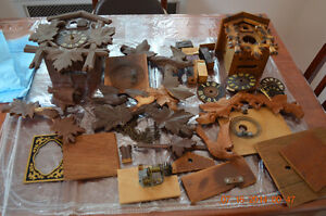 Wanted old cuckoo clocks for parts London Ontario image 1