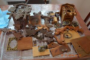 Wanted old cuckoo clocks for parts London Ontario image 1