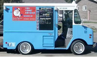 Have a food truck that entertains for your next event