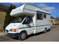 4-berth 1998 Herald Squire motorhome for sale REDUCED £3000