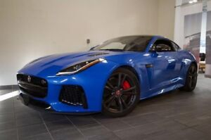 2017 Jaguar F-Type Coupe SVR AWD | Wrrty | Clean | Crbn Roof |