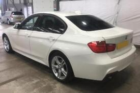 2015 WHITE BMW 320D 2.0 XDRIVE M SPORT DIESEL AUTO SALOON CAR FINANCE FR £58 PW
