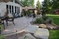 Landscaping Interlocking Pavers at www.LMARTIN.ca