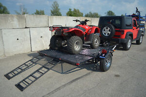 Kendon Stand Up Double ATV trailer, Stores upright in 8`X2` Kitchener / Waterloo Kitchener Area image 2