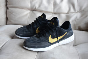 Nike SB size 12 P-Rod QS Black and Gold skateboard shoes