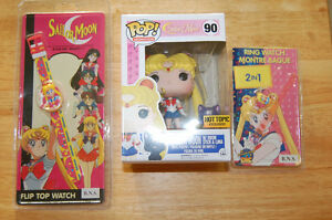 Sailor Moon Collectibles Hot Topic Funko Pop Vintage Watch