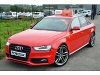 2012 12 AUDI A4 2.0 TDI S LINE BLACK EDITION 141 BHP *£30 A YEAR TAX*