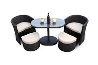 Marseille 5pc Resin Wicker Balcony/Patio Set, $850