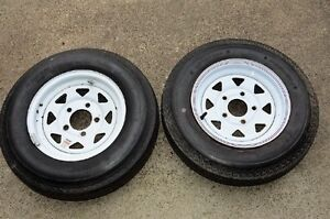New Trailer tires & rims – 2 sets 530x12 and 480x12