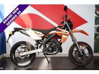 2017 17 RIEJU MRT 50 SM LIQUID COOLED, ORANGE, BRAND NEW!