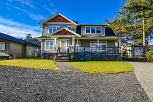 Beautiful Ocean view from this semi waterfront home. Campbell River Comox Valley Area image 1