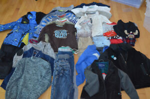 Lot of boys clothes 5-6 / vêtements garçon 5-6 ans