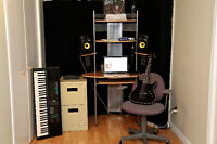 Music studio booking singing and extreme vocal lessons 2015-2016