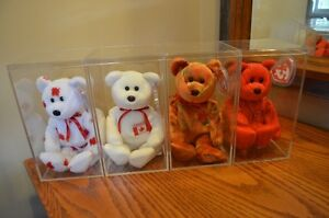 Ty Beanie Babies *Retired & Rare* - Set of 4 Canadian Exclusives Sarnia Sarnia Area image 3