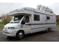 2001 4-berth Auto-Trail Chieftain motorhome for sale REDUCED £2000