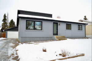 Beautiful Completely Renovated Whole Home Rental in St. Albert!