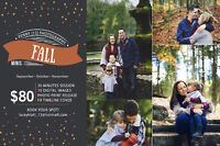 Fall Mini Sessions! - Professional Photographer in Peterborough