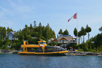 Full-time seasonal Deckhand position - Tobermory, ON