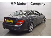 2013 63 MERCEDES-BENZ C CLASS 2.1 C250 CDI BLUEEFFICIENCY AMG SPORT 2D AUTO 204