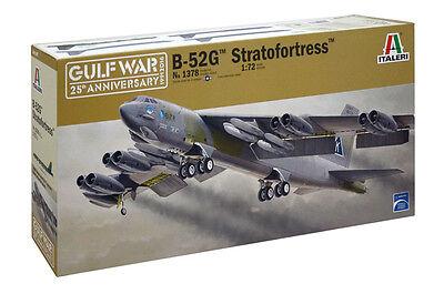 Italeri B-52G Stratofortress Gulf War 1/72 airplane model kit new 1378