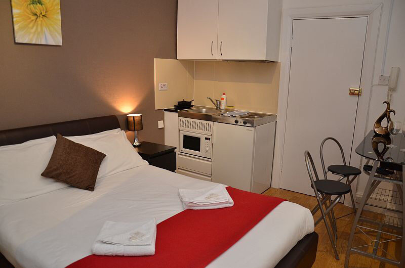 Double Studio Apartment paddington from £455 per week all bills