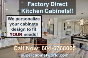 Kitchen Cabinet/Cabinets On Sale-White shaker