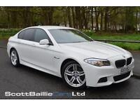 2013 13 BMW 5 SERIES 2.0 520D M SPORT 4D AUTO 181 BHP DIESEL