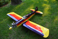 Super Sportster RC Plane complete with Saito 1.20