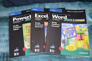 Microsoft OFFICE 2003 3-Book Set: Word, Excel, PowerPoint