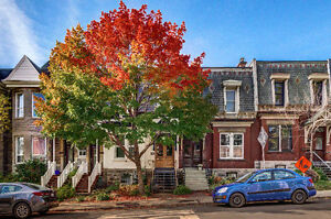 Fully furnished home in Westmount's famous Greene Ave. (Atwater)