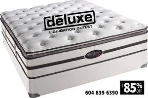 DELUXE DEAL 100% BRAND NEW MATTRESS SIMMONS, SERTA, SEALY,STEARN Downtown-West End Greater Vancouver Area image 3