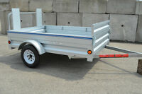 """5X7'3"""" Extends to 8' 6"""" Brand New! Great Time to Buy A Trailer!"""