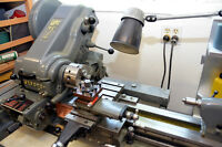 Myford Super 7B Engineering lathe with power cross-feed