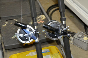 DOWNRIGGER POLES & REELS Kitchener / Waterloo Kitchener Area image 5