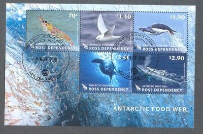 Ross Dependency Antarctic Food Web fine used min sheet-Seaals Birds