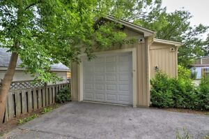 Brand New Garage! Central Location! Heated Storage/Parking/Shop